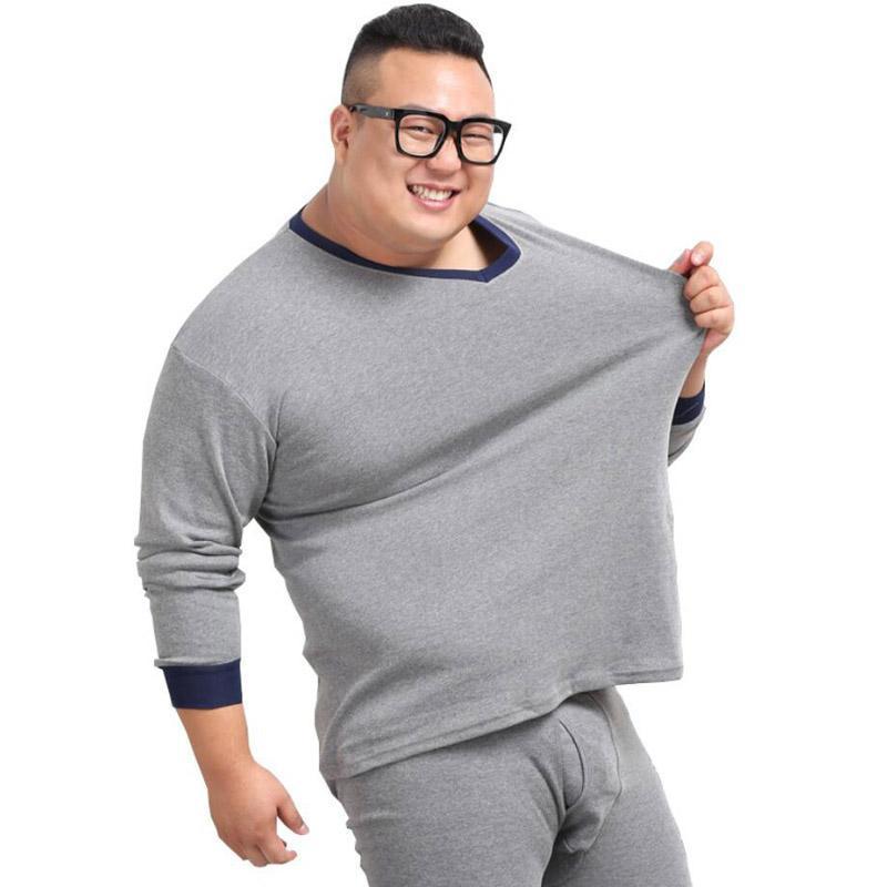 Kış Erkekler Pijama Uyku Dipleri Gecelik V Yaka Artı Boyutu 6XL 7XL Ev Pijama Ev Gevşek Uyku Pantolon Homewear Esneklik 52