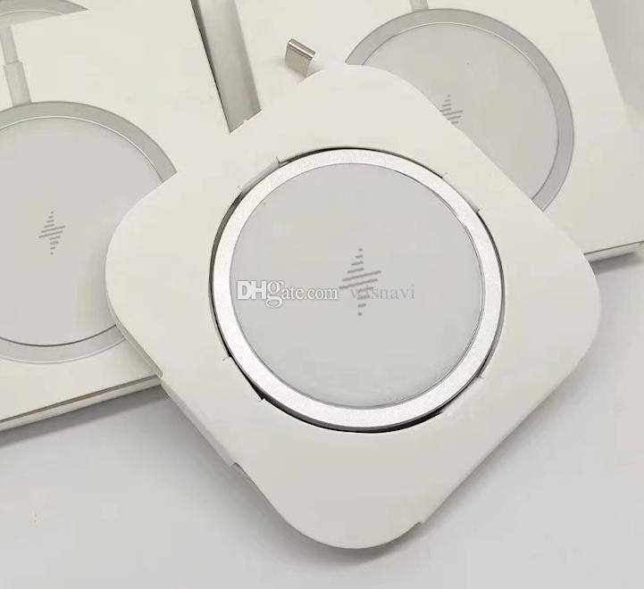 Magnetic Wireless Charger With Magsafe For iPhone 12 Pro Max Magsafe Charger Wireless Charging 15W Wireless Magnetic Charger For Samsung