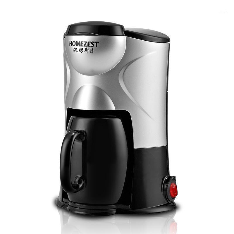 Máquinas de café One-touch Operação Mini Portátil Invóstico Copo de Casa Automática Máquina Americana11