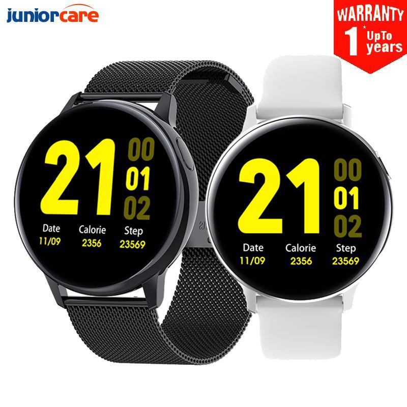 2020 새로운 S30 스마트 시계 남자 ECG 심박수 시계 체온 수면 모니터 Android iOS 용 방수 Smartwatch Active2 # 6