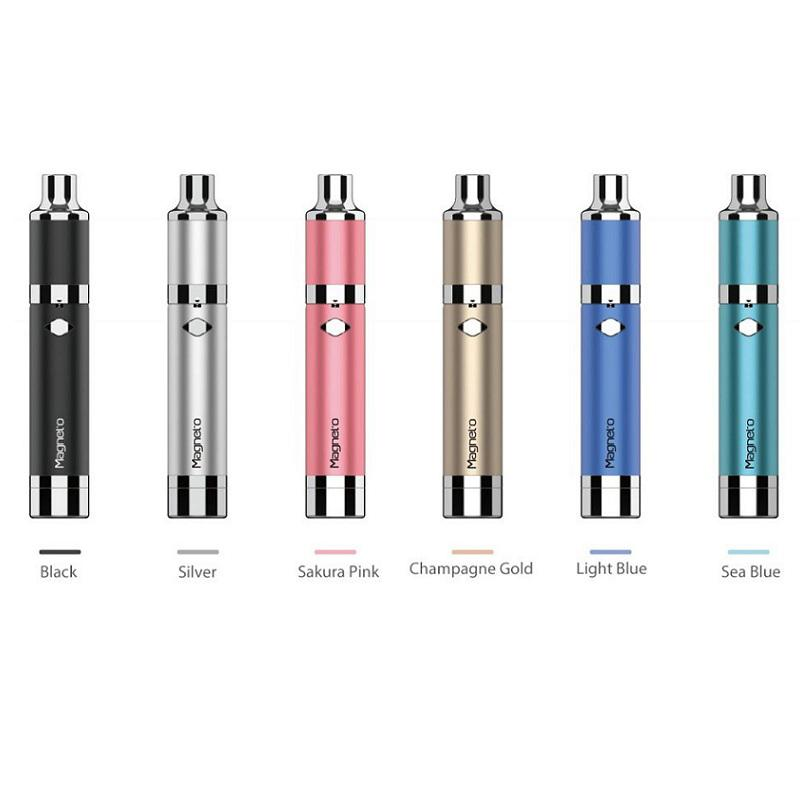 100% Authentic Yocan Magneto Kits 1100mAh Battery Magnetic Coil Cap Built-in Silicone Jar Ceramic Coil Wax Vapor Pen