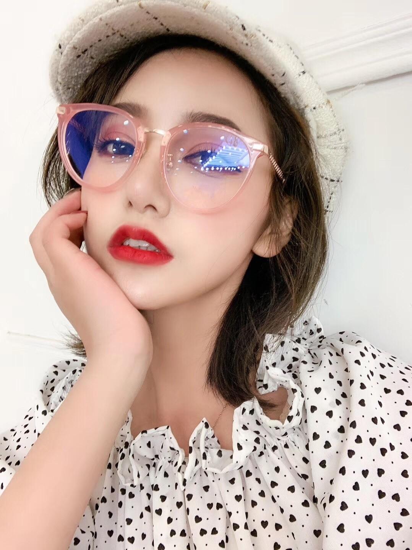 جديد النظارات الإطار النساء الرجال النظارات إطارات النظارات إطار واضح عدسة النظارات الإطار oculos 220f مع القضية