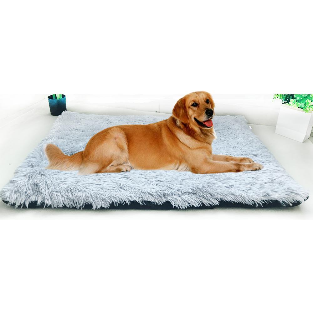 ПЭТ питомник удобная кровать зимняя теплая плюшевая прокладка моющийся нескользкий диван Pet Pad подходит для малых средних больших согстей или кошек