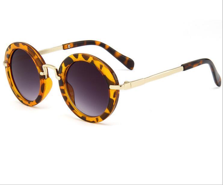 Kinder Runder Vintage Sonnenbrille Jungen Sport Schatten Sonnenglas Mädchen Blume Print Eyewear Mode Kinder Sommer Strand Sunblock Accessorie PPE3649
