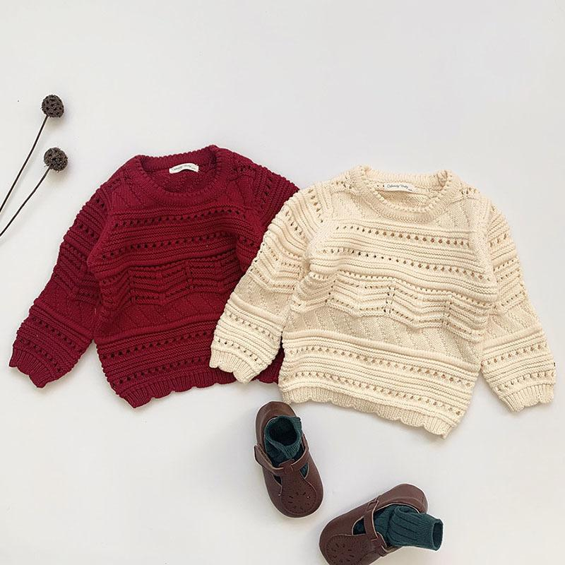 Jersey Girls' Long Sleeve Sweaters for Boys Girls, Autumn and Winter, 2020.
