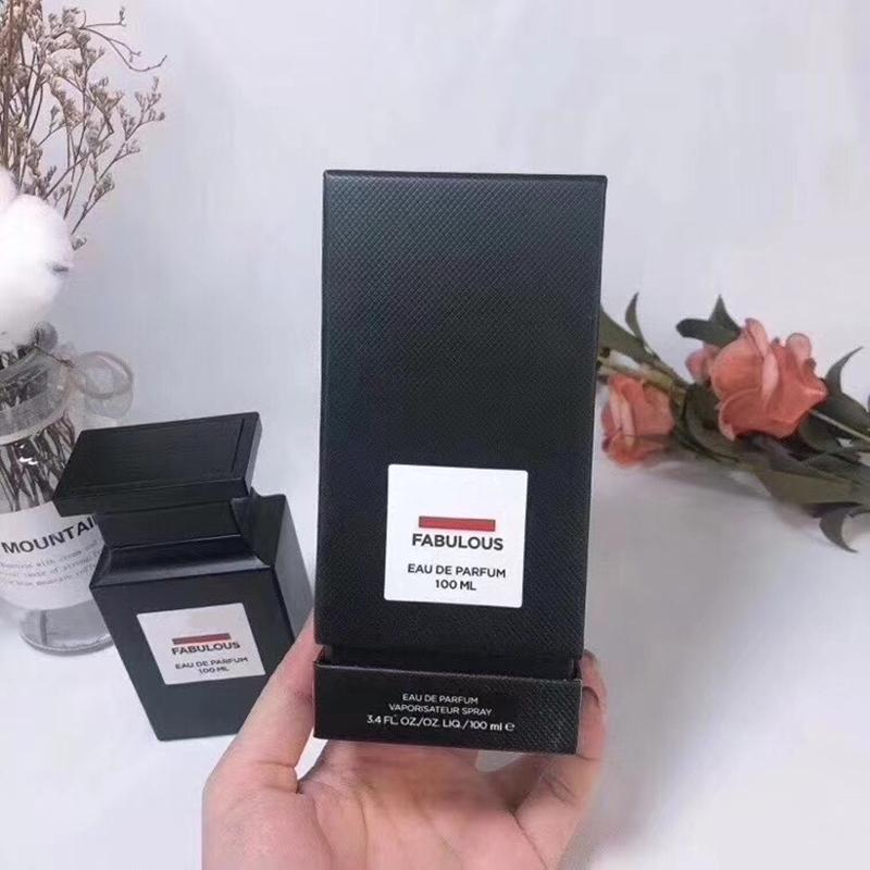 Commercio all'ingrosso orchidea nera perdita di ciliegia noir scopata favolosa 100ml buon odore profumo spray eau de parfum per gli uomini donne