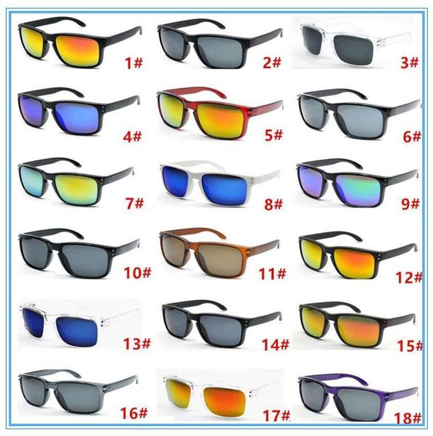 الرجال النظارات الشمسية الرياضة الدراجات ماركة النظارات الشمسية انبهار المرايا اللون نظارات الرياضة في الهواء الطلق نظارات ركوب النظارات الشمسية النظارات 18 اللون