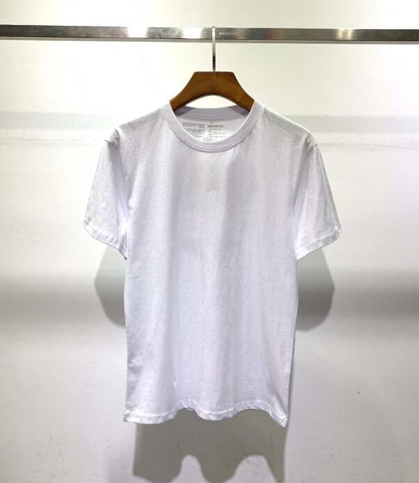 여름 패션 디자이너 티셔츠 남성 여성 힙합 산 풍경 인쇄 반팔 고품질 코튼 캐주얼 티셔츠 7 색