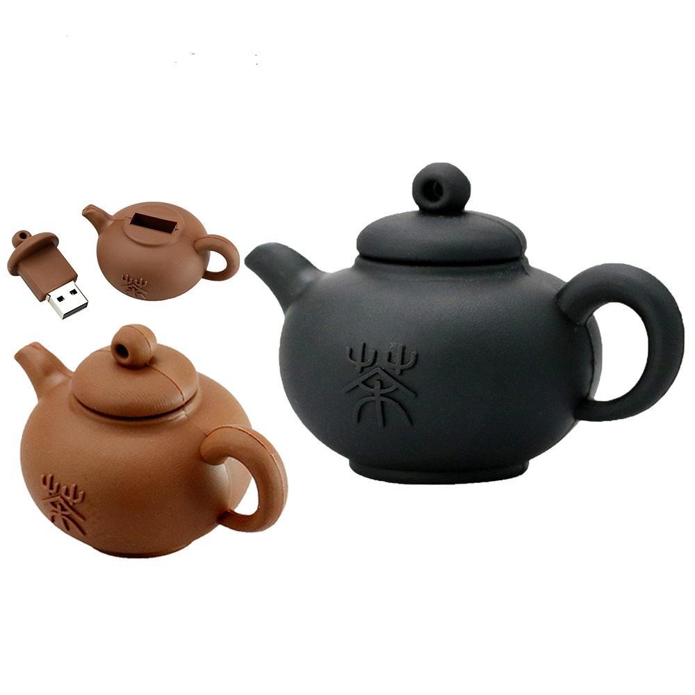 Pendrive Teapot USB Flash Drive 32GB 64GB 128B USB 2.0 Memory U Disk Mini Cup USB Stick Pen Drive