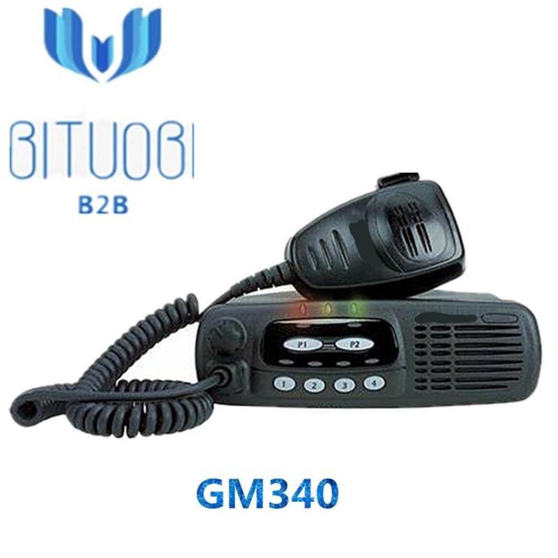 Walkie Talkie GM340 VHF UHF Refurbished Radio 136-174MHz 403-470MHz 차량은 6 채널에서 사용하기 쉽습니다.