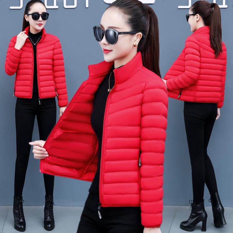 Spot Delivery of 2020 New Short Winter Korean Loose Down Fashion Women's Cotton Padded JacketI8MY