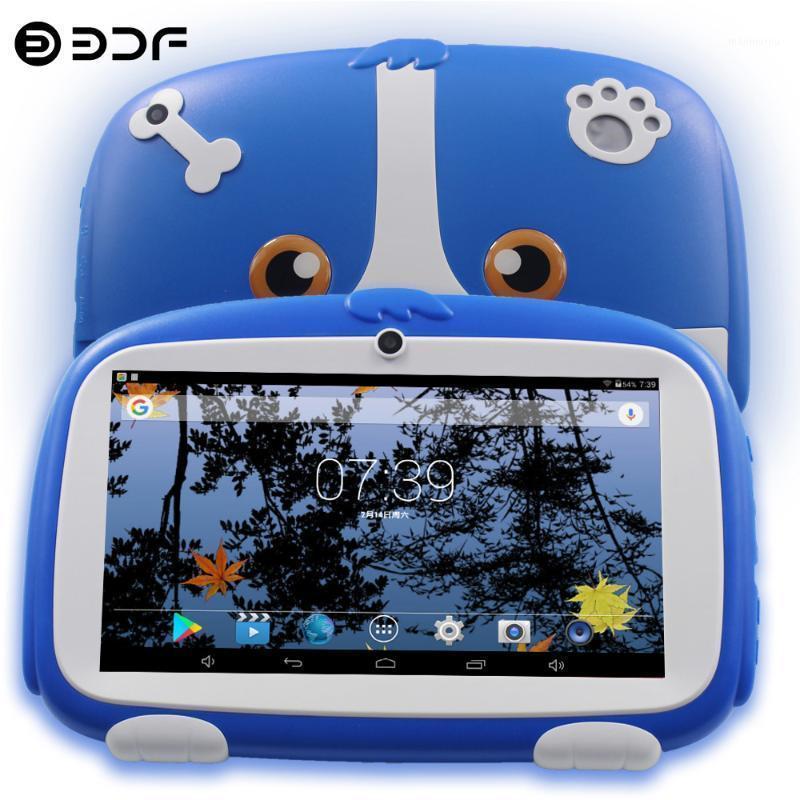Tablet PC Arrivées 7 pouces Kids Quad Core Android 8.0 Google Play Dual Caméra 16 Go WiFi Favoris pour enfants Favoris Cadeaux 1