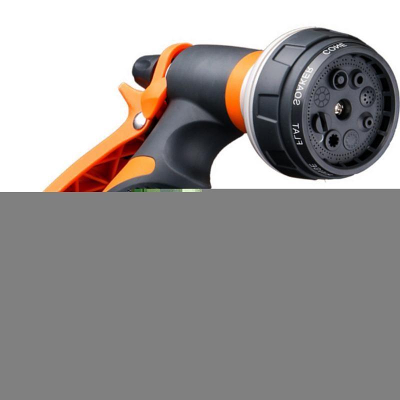 Tubi flessibili da giardino 1 pz ugello per tubi flessibili 8 motivi spruzzatore ad alta pressione acqua spruzzo di ugelli pistola