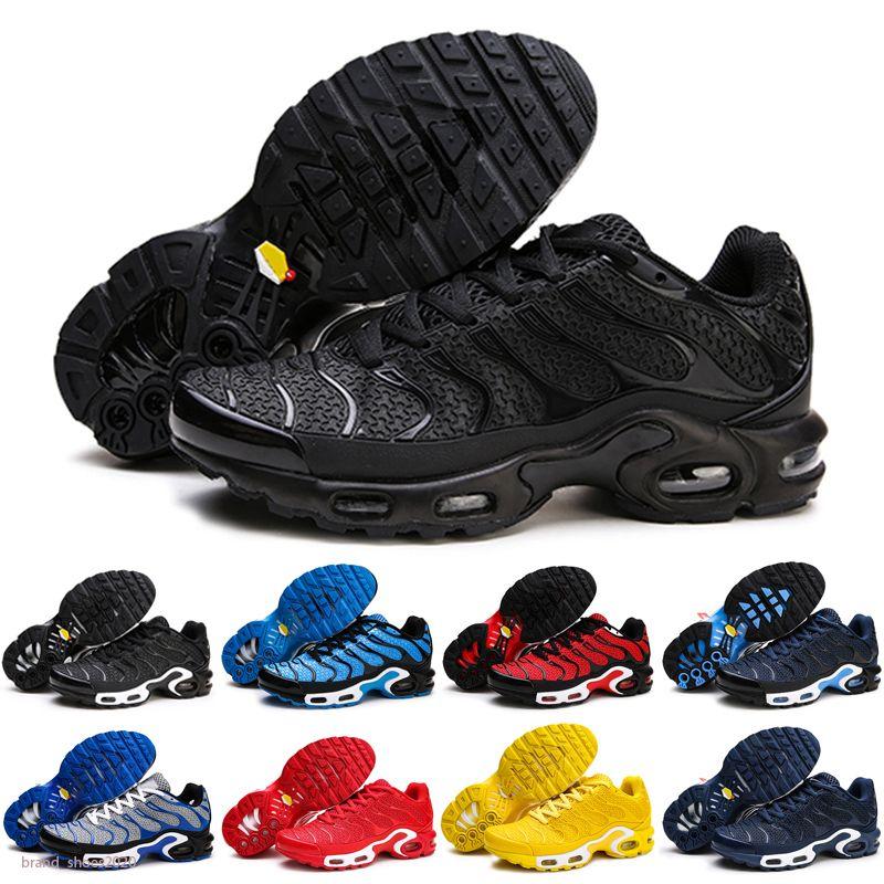 Mercurial Plus Tn KPU Men Zapatos Moda para mujer Zapatillas de deporte Chaussures Femme TN KPU Triple S Purios deportivos Tallas de cojín EUR40-46 MY7GG
