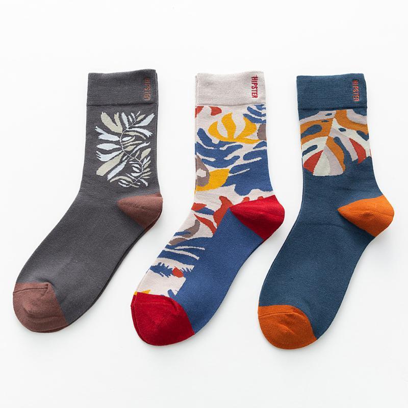 Chaussettes de Femmes Hommes hauts chaussettes Hommes Longues dames avec des motifs