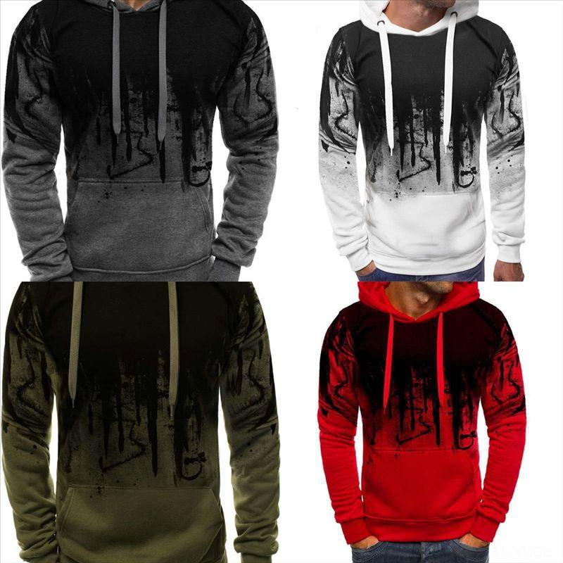 CmVsQ Neck 3D printing Men creative brand dener sweater Latest Designer classic Winter Mens Sweater Autumn Fashion Pullover man Splash ink B
