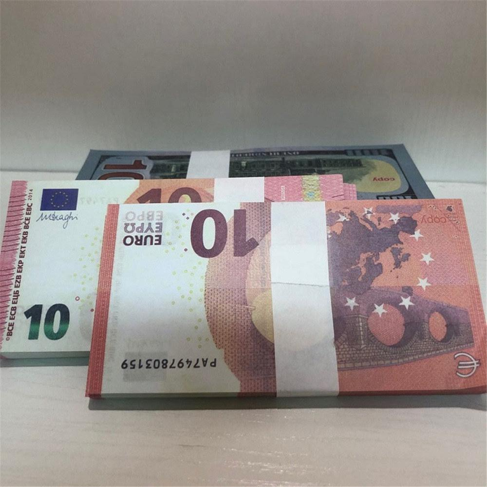 Billet Ambiance euro euros billet de banque LE10-30 étage accessoires enfants livre dollar cadeau jouet bar fête contrefaite vhoit riuvu
