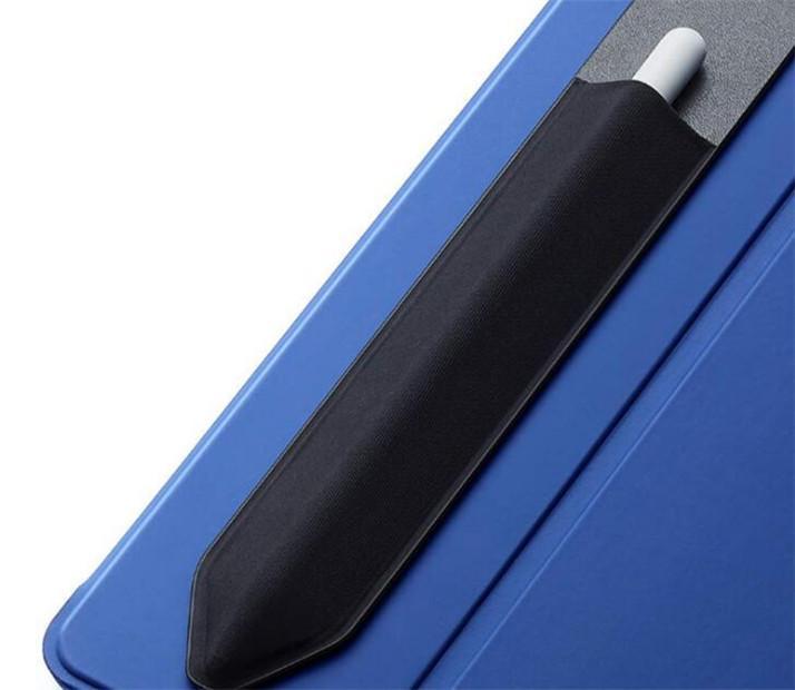 Apple 연필 펜 커버 케이스에 대한 접착제 스티커 백 스틱 펜 케이스 펜 재사용 가능한 이동식 케이스 가방