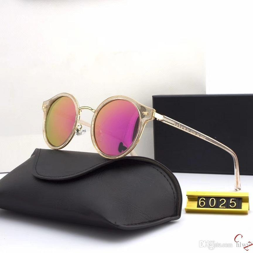 Lunettes de soleil de marque pour femmes et hommes Mode Marque Miroirs Miroirs USA Polarisée Polarisée HD 6025