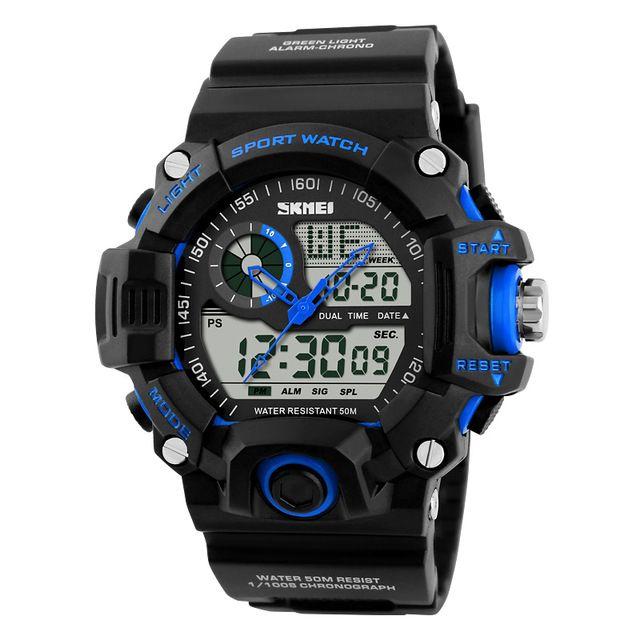 S-shock uomini orologi sportivi a LED orologio digitale di moda marca di moda all'aperto impermeabile gomma militare orologio militare relogio masculino goccia