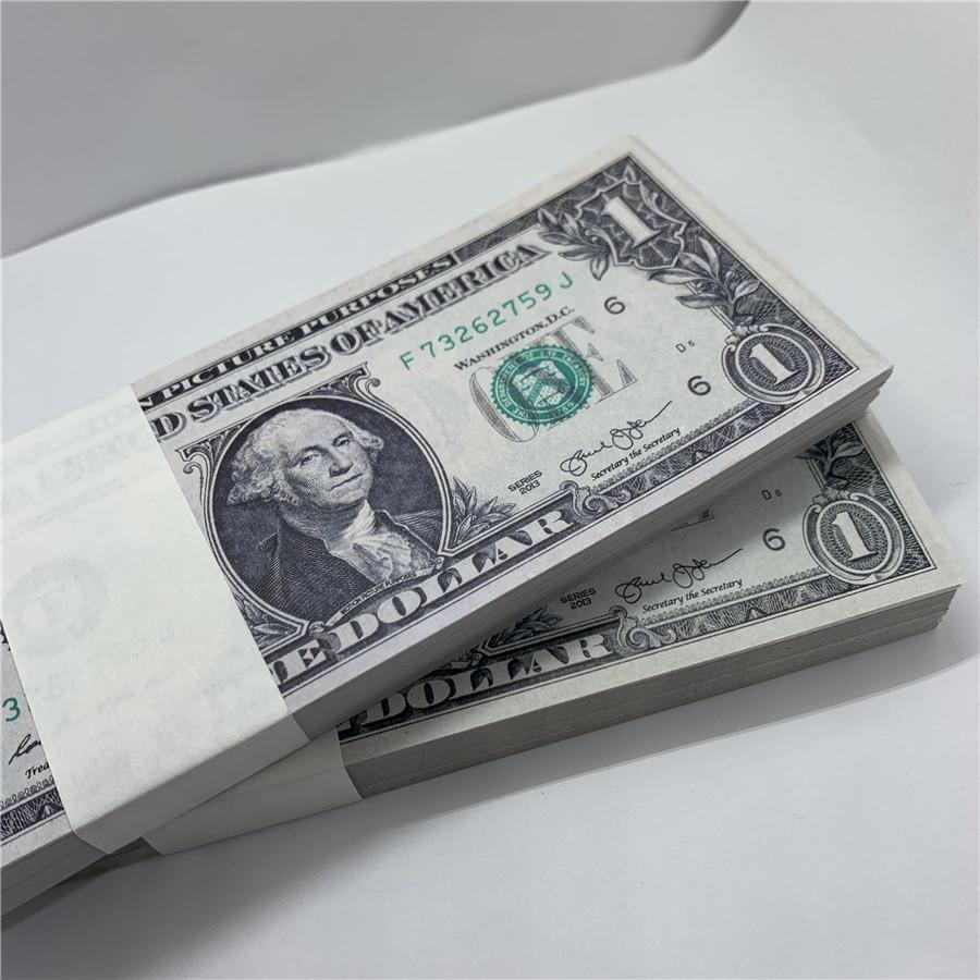 Papier US US Marque Sales Copie Props Monnaie Monnaie Monnaie Nouveau Papier Jouet 11A Dollar Direct WDDTX UVBVN