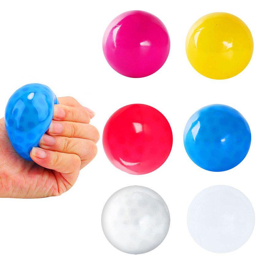 Getta sul bastone Bastone appiccicoso gol Bal Squash Ball Gloples Balls Collante Soffitto A5OX