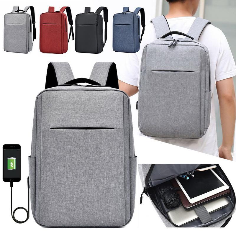 USB-Anti-Diebstahl-Laptop-Rucksäcke 15 Zoll große Kapazität Reise-Bagpack-Männer wasserdichtes Ladet Rucksack Student Laptoptasche Packung