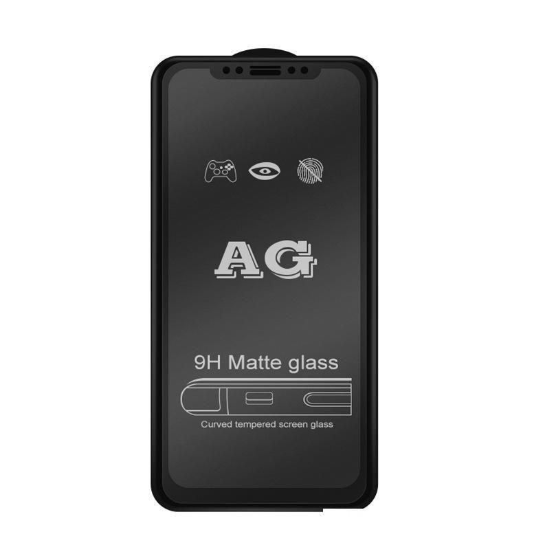 AG Matte 9H Plein couverture Guériste trempé Flim pour Huawei P40 P30 Lite P20 PRO P10 Mate 30 20 10 Lite Protecteur d'écran anti-empreintes digitales