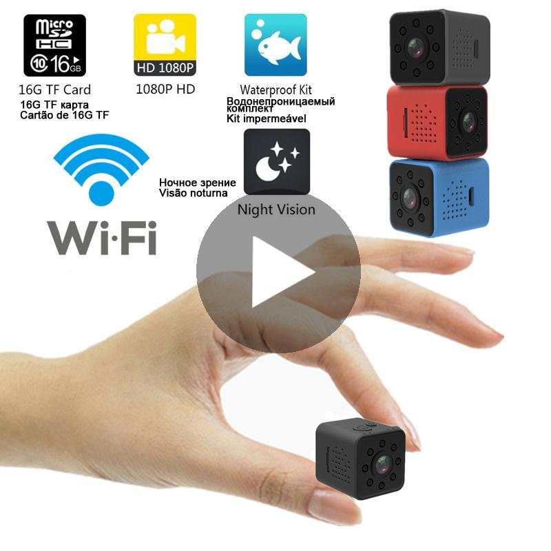 Wi-Fi Mikro Ev Kablosuz Video CCTV Mini Güvenlik Gözetleme Wifi Ip Kamera Kamera Ile Telefon HD DVR IpCamera Pet Köpek LJ201205