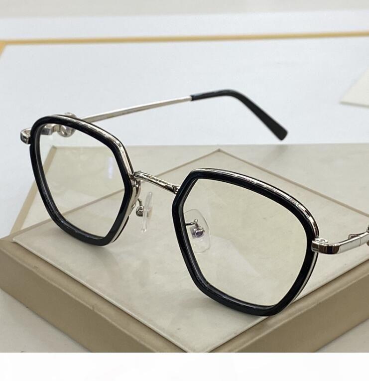 064 lunettes cadre Clear Lentille Hommes et lunettes pour femmes Myopia Lunettes de vue Rétro Oculos de Grau Hommes et femmes Myopia Vyeglasses Cadres avec boîte