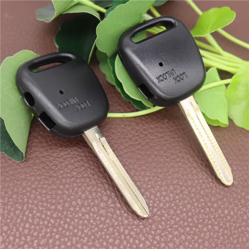 Toyota Remote Car Key Shell с одной / двумя отверстиями на боковой замене Клавиша Клавиши для Toyota