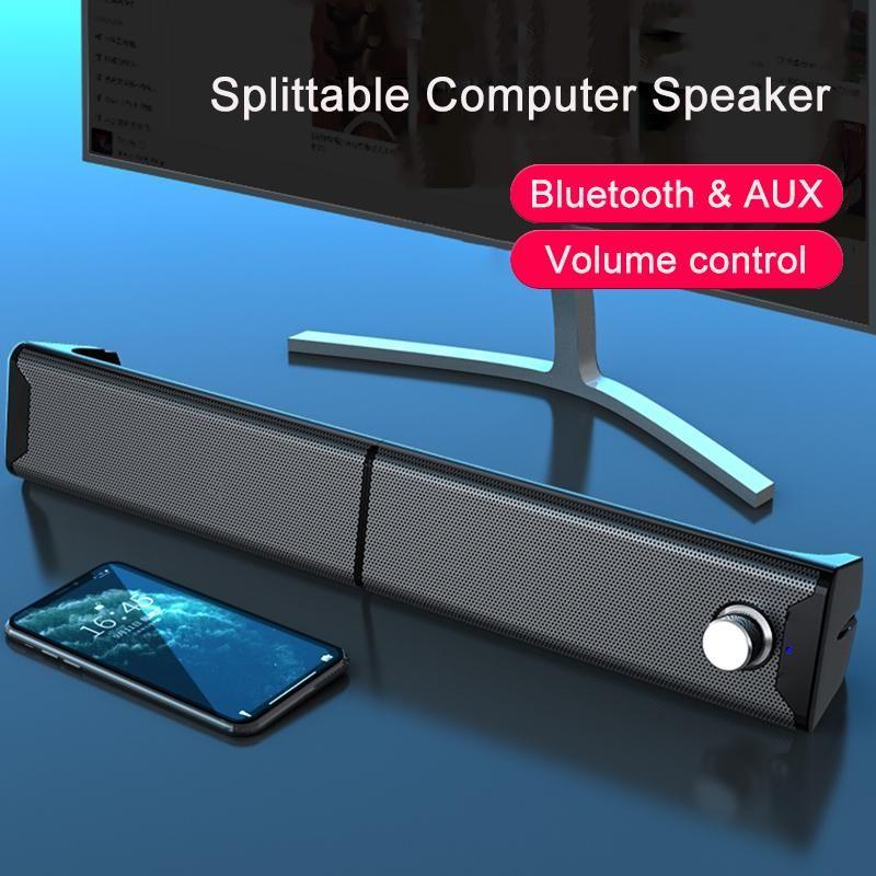Altavoces Splittable Bluetooth Haut-parleurs Soundbar TV Caixa de Som Amplificada Sound Bar Subwoofer Haut-parleur Système de théâtre Accueil