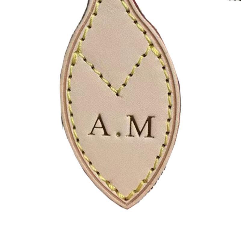 Eski ayakkabıcı sıcak damga ile özelleştirmek için özelleştirmek ünlü marka çanta kişiselleştirilmiş özel mektup speedy cüzdanın sıcak damgalama ekle
