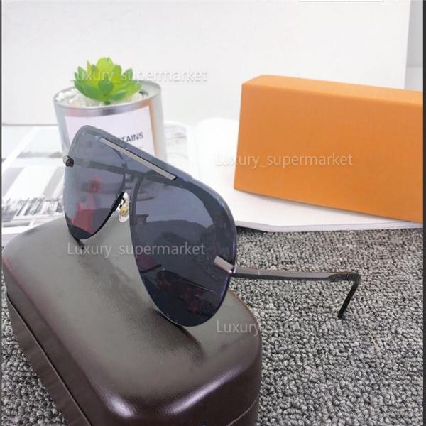 2021 رجل مصمم المرأة النظارات الشمسية النظارات الشمسية النظارات الشمسية النظارات الزجاجية 9105 نموذج، 5 ألوان اختياري نظارات عالية الجودة A1