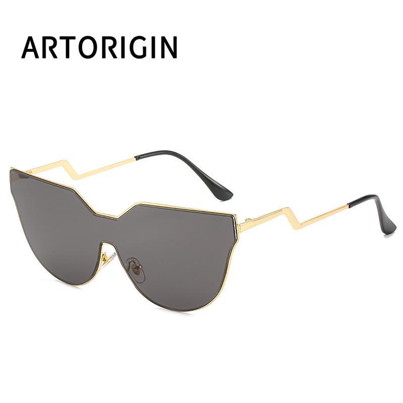 2020 marca lente óculos de sol liso feminino mulher sem aro de metal óculos olho um sol gato óculos espelho máscaras uv400 lsnen