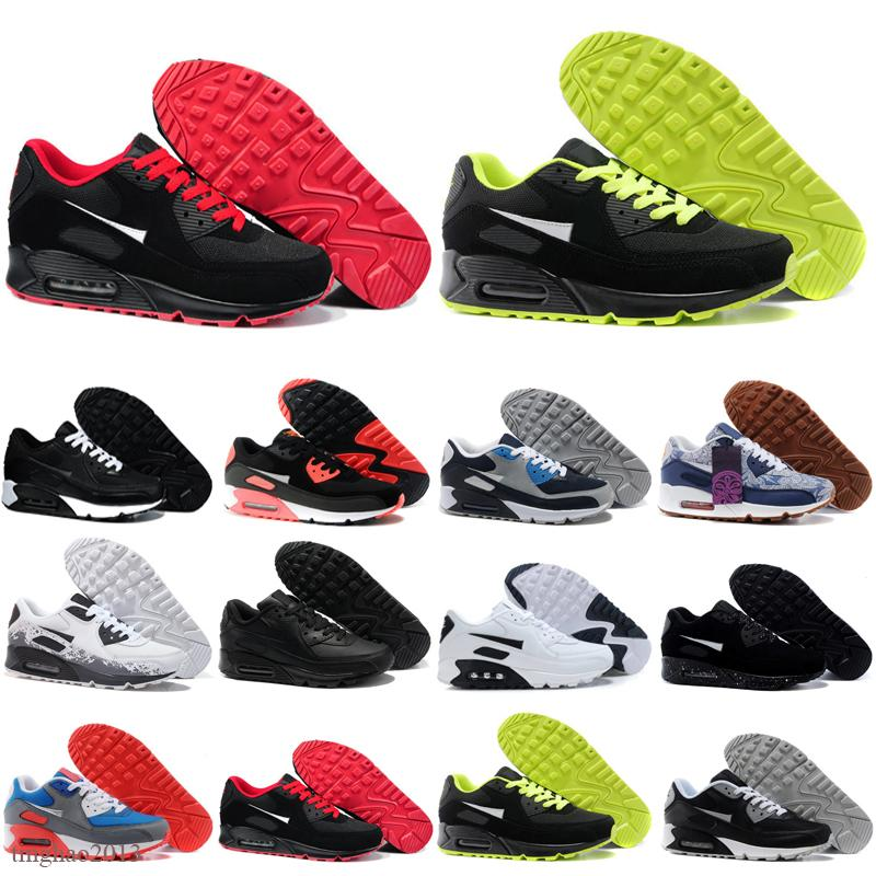 2021 90 Chaussures de course Hommes Femmes Chaussures 90s Camo Worldwide Worldwide Supernova Triple Black Black Mens Baskets Sports de sport en plein air