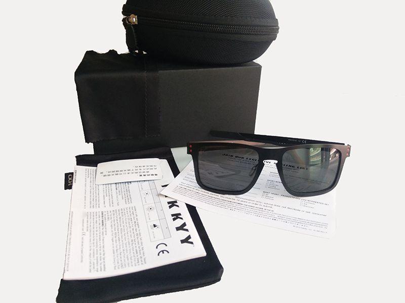 새로운 패션 편광 선글라스 남자 브랜드 야외 스포츠 아이웨어 여성 Googles 선글라스 UV 400 금속 프레임 41032 선글라스
