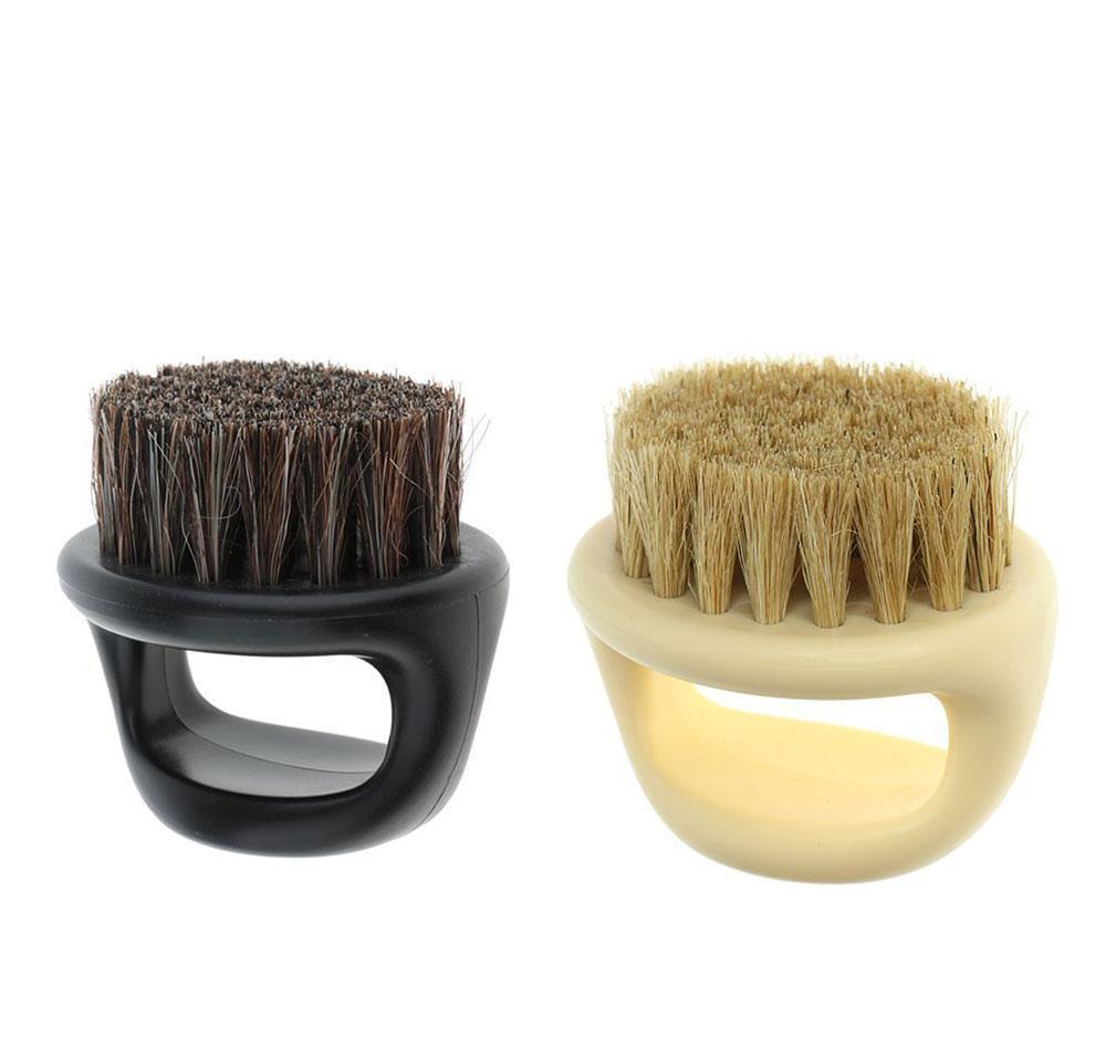 فرش رجالي شارب اللحية الحلاق صالون الاجتياح الحلاقة الوجه الشعر الرقبة وجه المنفضة فرشاة لتصفيف الشعر 4yotd az4hs