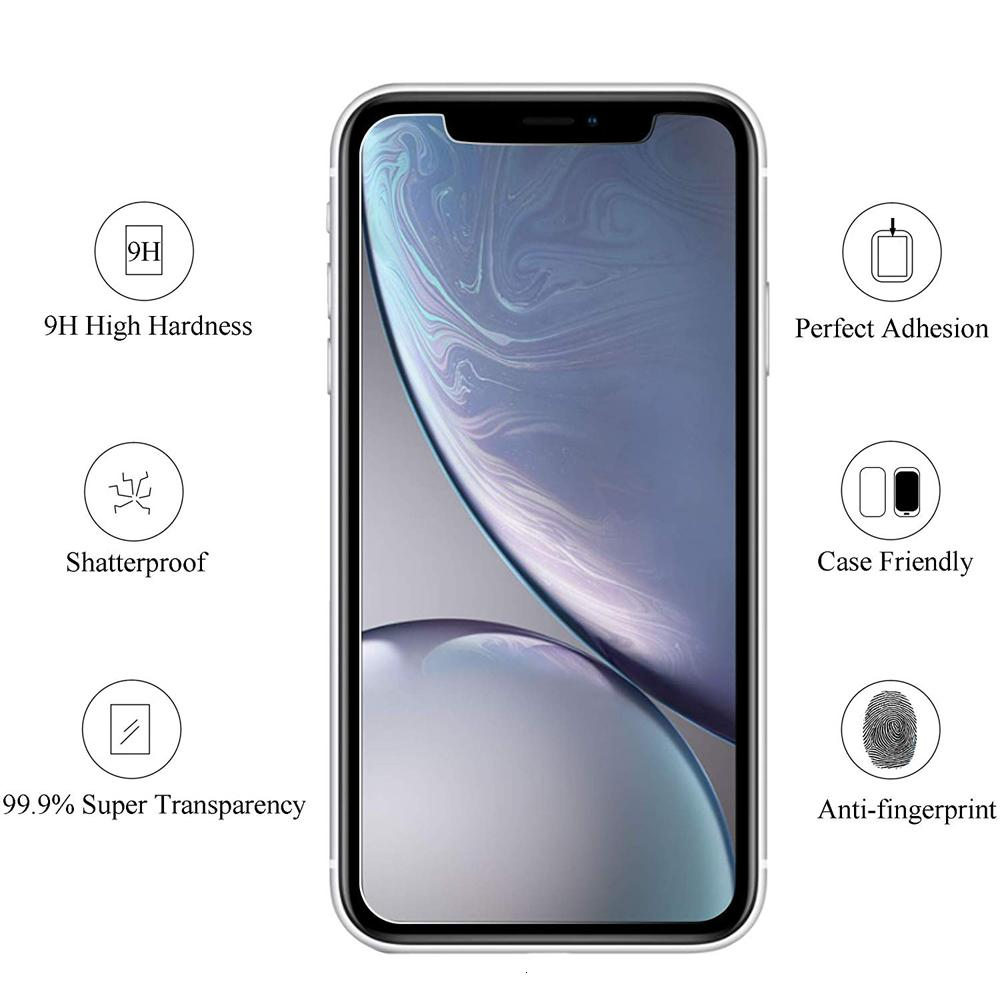 2020 Tempered SE Glass Screen Protector For phone 12 11 Pro X/XS Max XR 6/7/8 Plus 9H