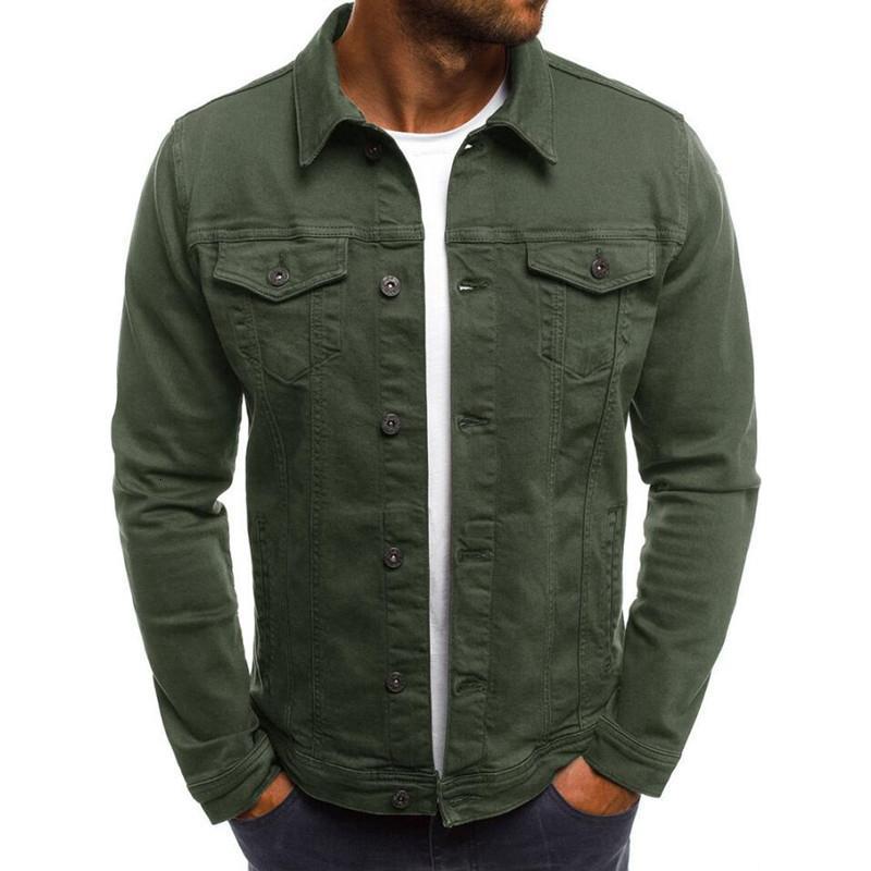 Nouveaux manteaux de mode pour hommes Slim Denim Jacket massif masculin Vestes Hommes Cowboy Outwear Vêtements Hip Hop Streetwear