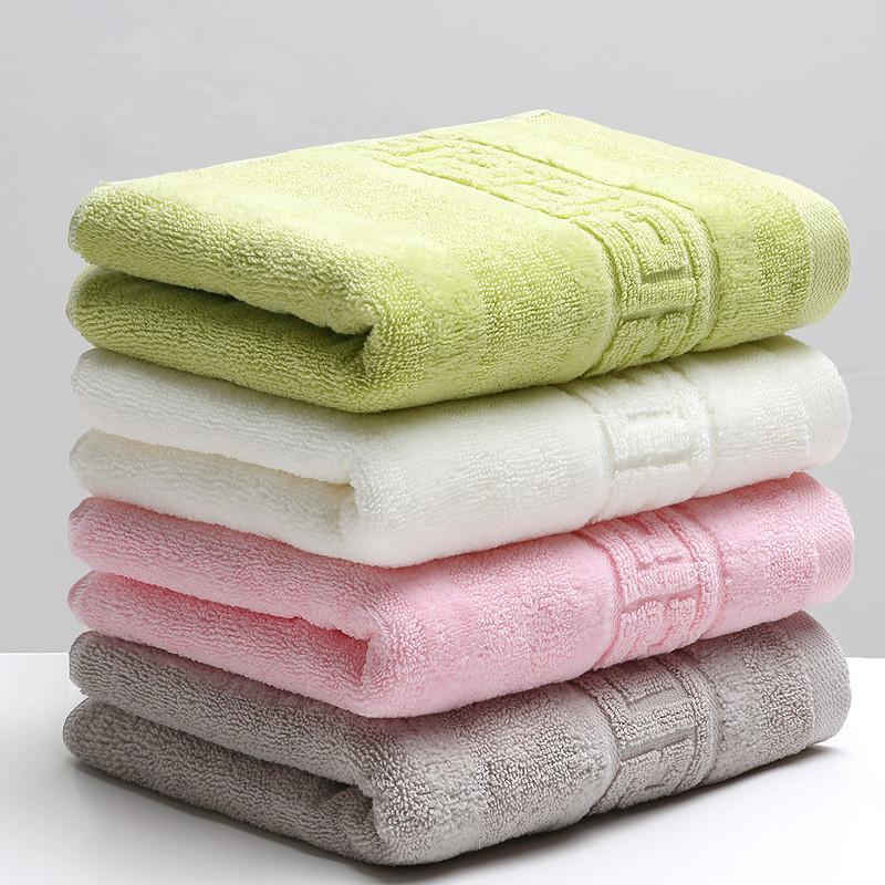 Handtuch 34x74 cm 100% Baumwolle absorbierende massive farbe weich bequeme top grade männer frauen familie badezimmer hand 10