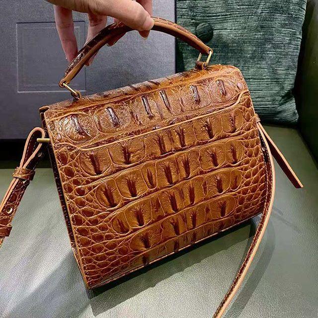 Heißer Verkauf Designer Mode Crossbody Bag Flasche Taschen Schulter Classic Golden Luxus Frauen Alligator Leder Jumhu