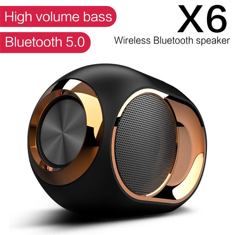 Müzik Hoparlörler Bluetooth Taşınabilir Kablosuz Hoparlör Stereo Surround Süper Hifi Soundbar TF Kartlı 3.5mm AUX Kablo Çalma Müzik
