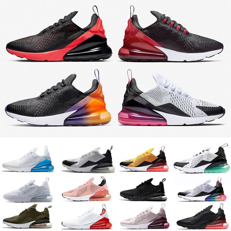 270 270s 2021 OG Подушка и демпфирующие резиновые повседневные кроссовки Легкий вес 27C OG Mesh Дышащая демпфирующая спортивная спортивная обувь