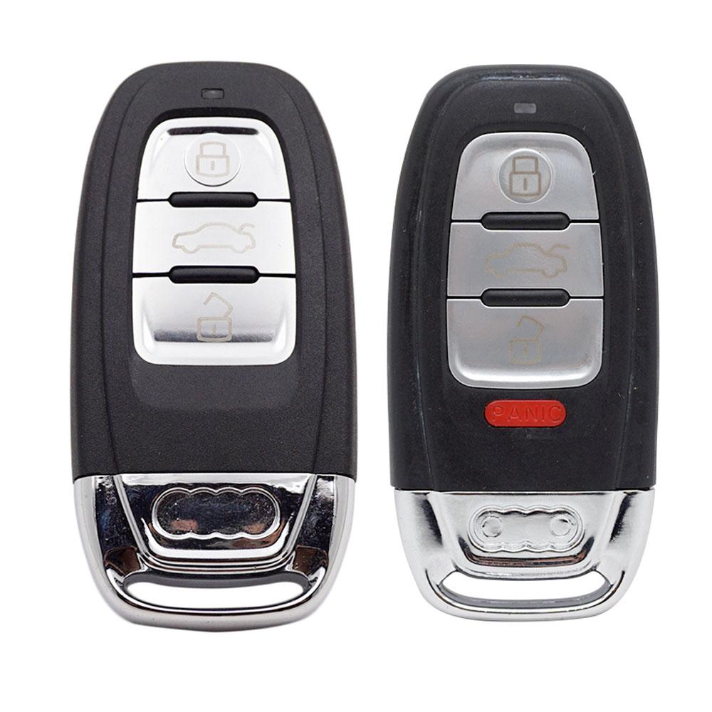 3 кнопки 4 кнопки автомобиля удаленный ключ оболочки автомобиля замена ключа ключевой крышка для Audi A4 A5 A6 A8 Q5 Q7 Q3 RS TT