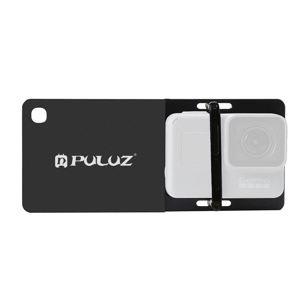 Puluzz Mobile Gimbal Interruptor Mount Plate para GOPRO HERO NOVO HERO 8 Preto 7 6 5 4 3 3 DJI OSMO Ação