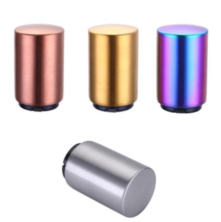 Açacakları Alaşım Bira Açıcı Paslanmaz Çelik Açacakları Otomatik Şişe Açıcı Bira Can Açacakları Disigner Şişe 4 Renkler BEB3113