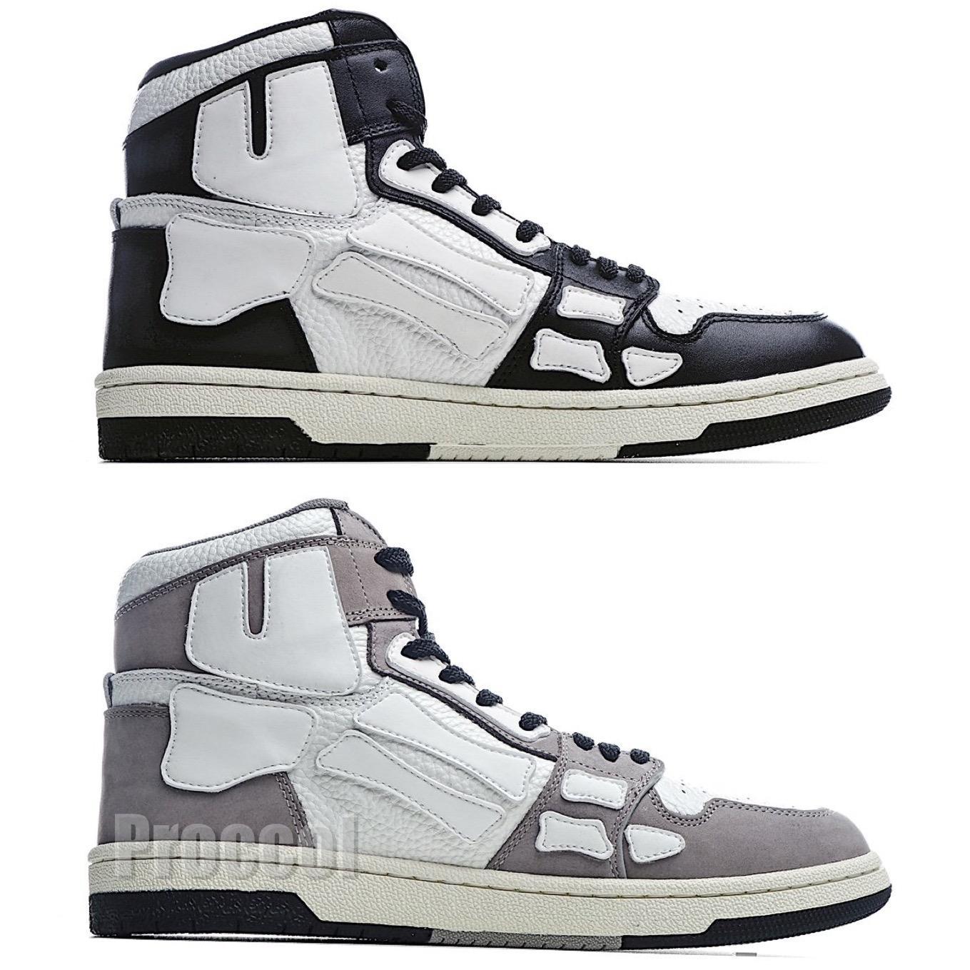 2021 Nuovo arrivo Top Quality 1 scarpe da uomo 1S Scheletro Scarpe Moda Alta Top Basket Scarpe Sneaker US 11