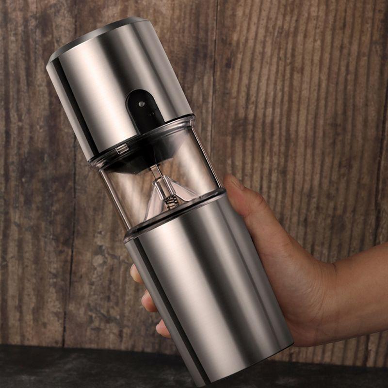 2020 Operação Viagem Ao Ar Livre Máquina de Café Filtro, Máquina de Café Elétrica Portátil Usb Carregamento Grinder One-Button