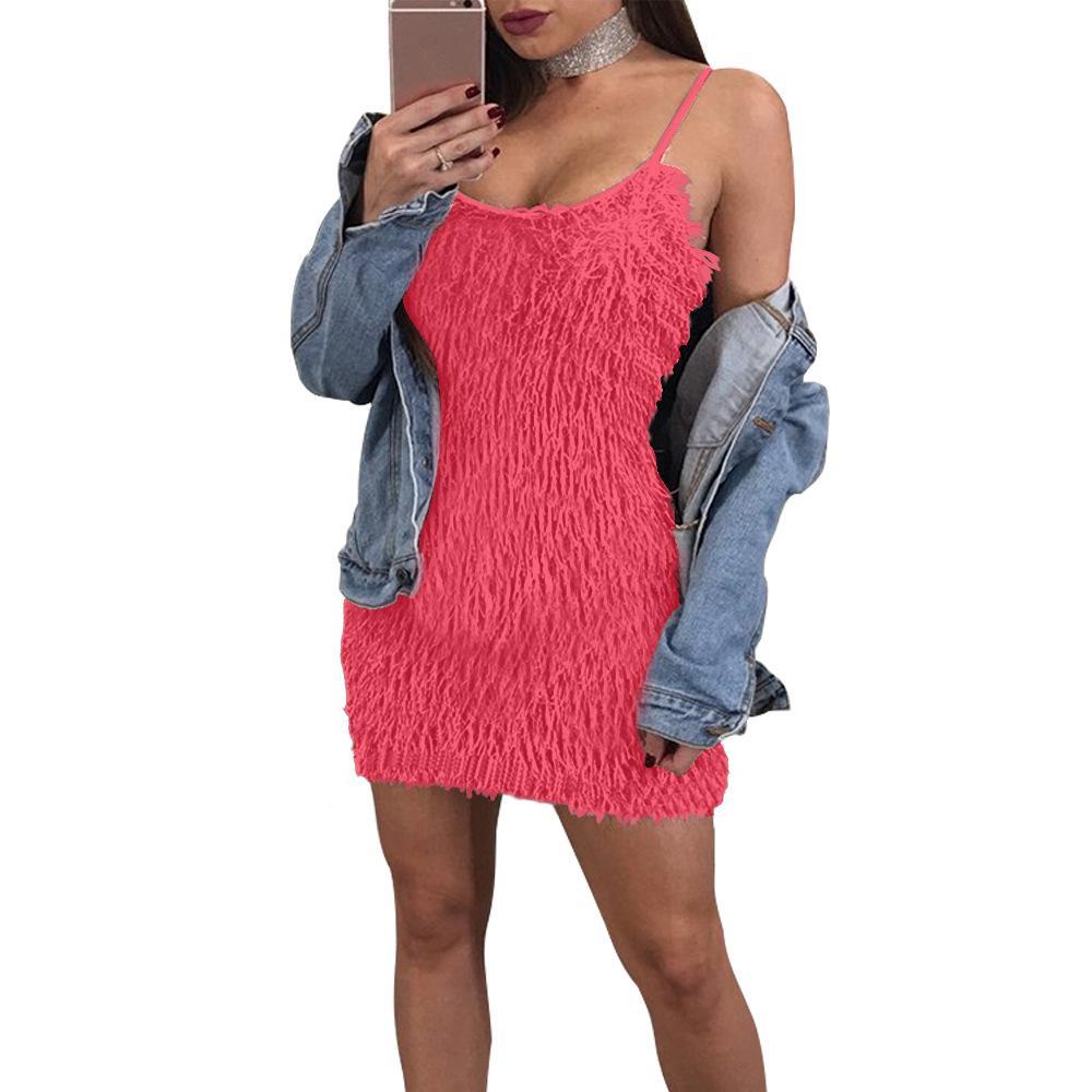 Сексуальное платье Mohair Женщины осень зима 2017 мода bodycon повязка повязка дамы клуб партии платья короткая мини футболка женщина платье красный